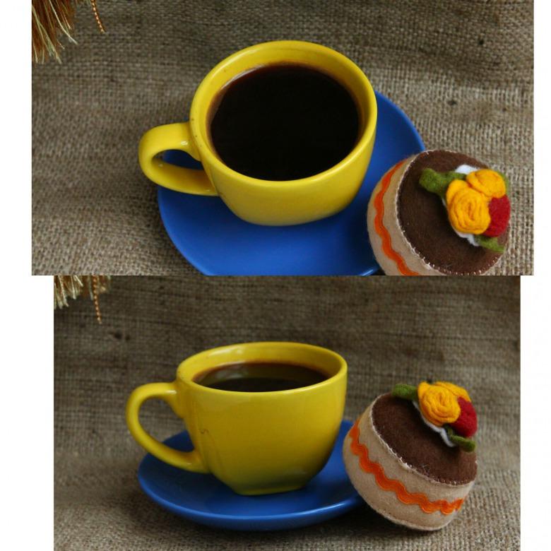 Обычный кофе
