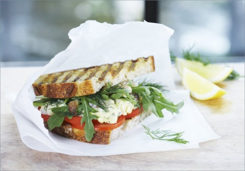Бутерброды с мясом краба