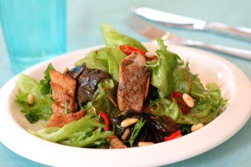 Салат с пряной сельдью