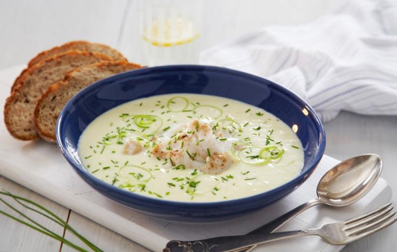 Суп с треской