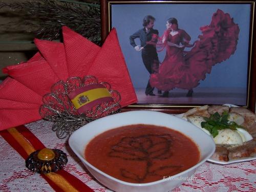 Salmorejo - Испанский холодный суп Сальморехо