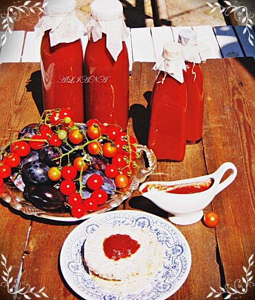 Томатно-сливовый соус (густой)