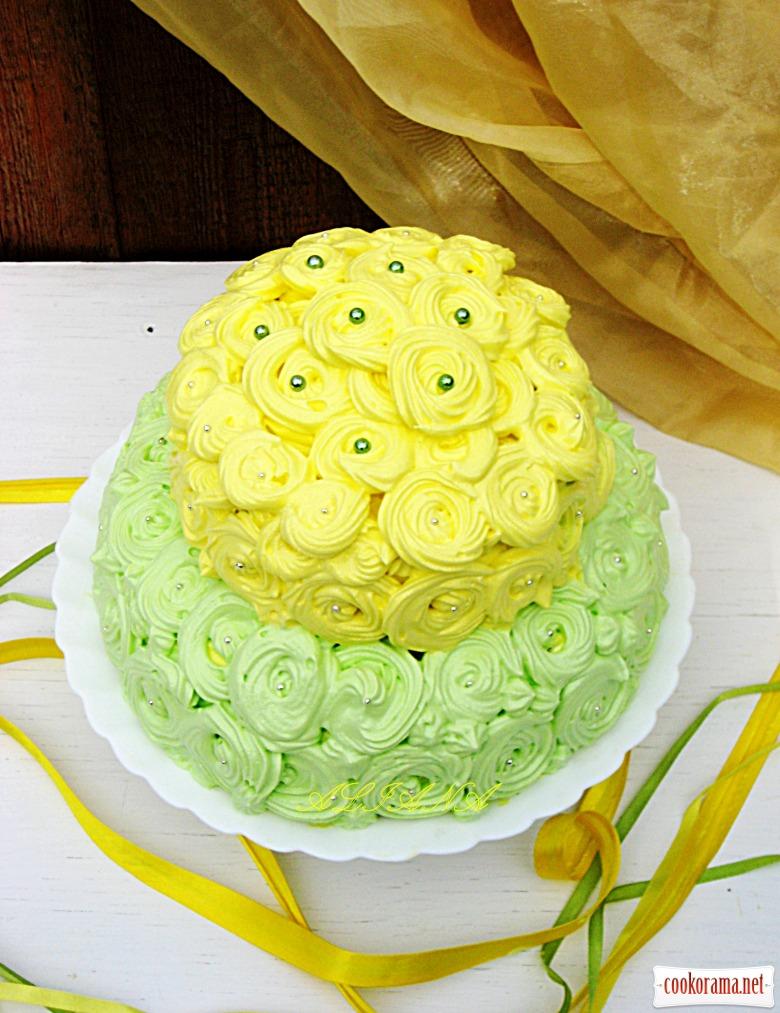 «Райский» торт для любимой бабушки