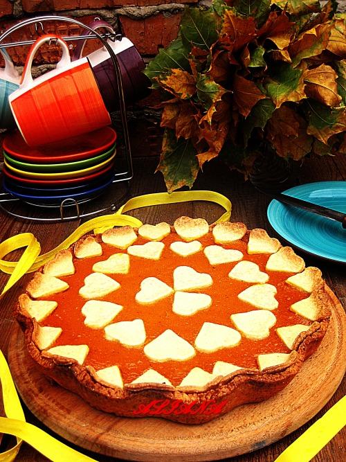 Pampkin pie (Тыквенный пирог)