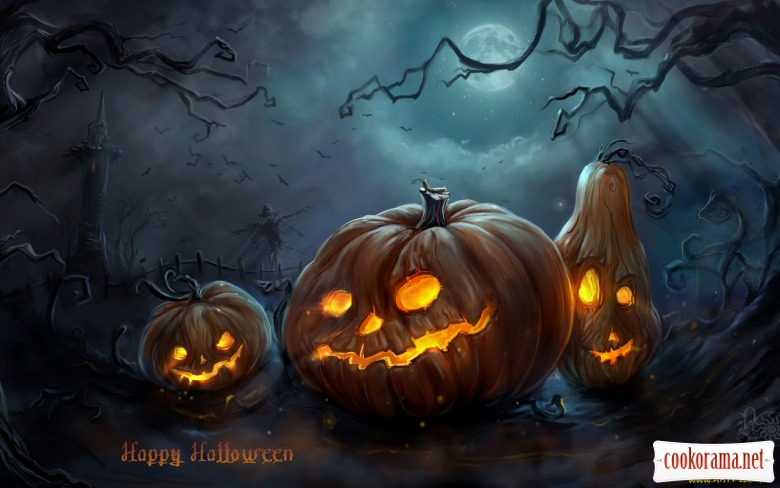 Happy Halloween, дорогие кукорамовцы)))