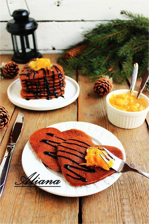 Спасибо!!! и шоколадно-апельсиновые панкейки