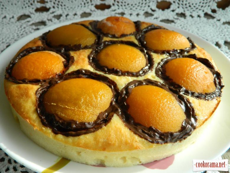 Творожная запеканка с персиками «Оранжевое настроение»
