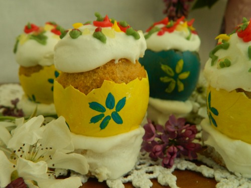 Фаберже по-українськи або бісквітні пасочки в яєчній шкаралупі