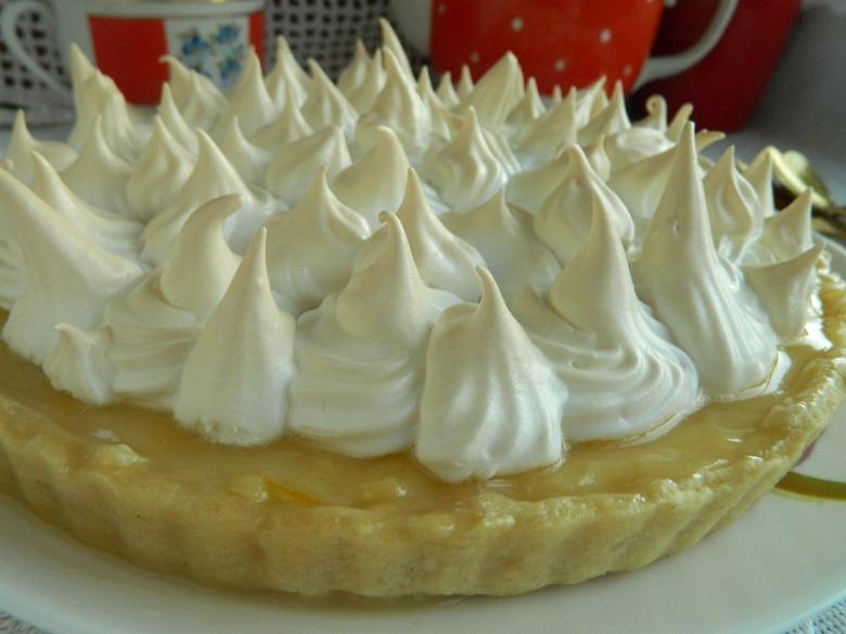 Лимонний пиріг з меренгою