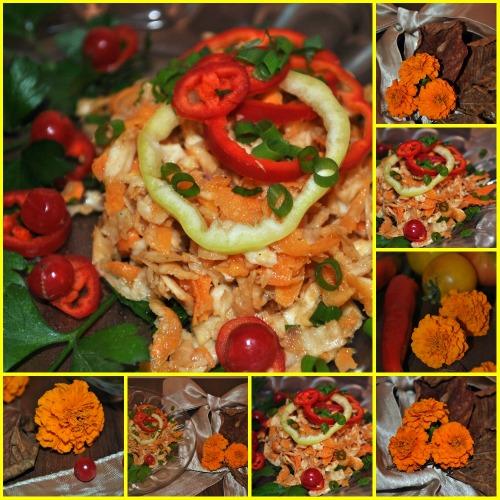 Салат з кореня селери і моркви