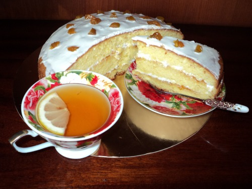 Абрикосовий торт
