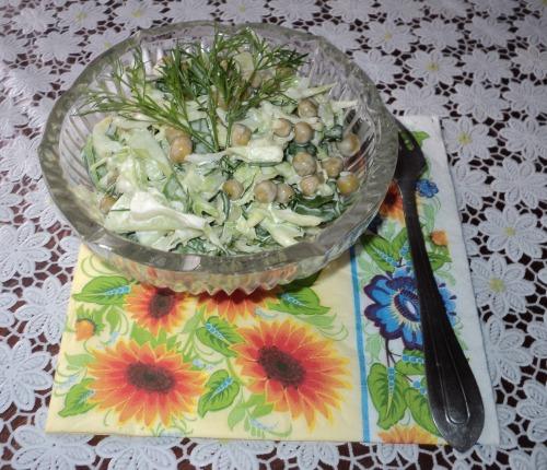 Салат «Вегетеріанський Дністер»