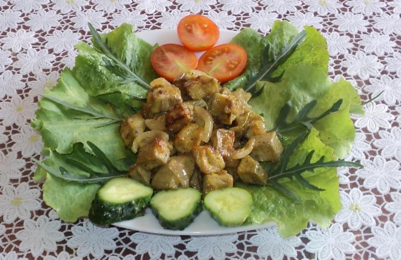 баклажаны со вкусом грибов рецепт фото