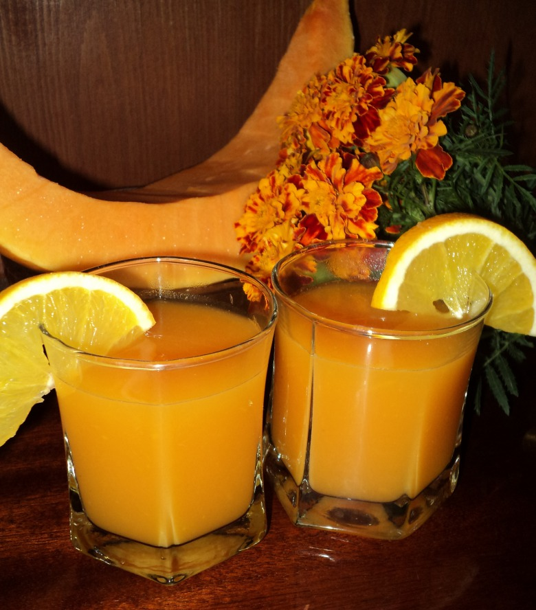Pumpkin-orange drink