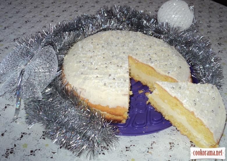 """Новорічной торт """"Рафаелло"""""""