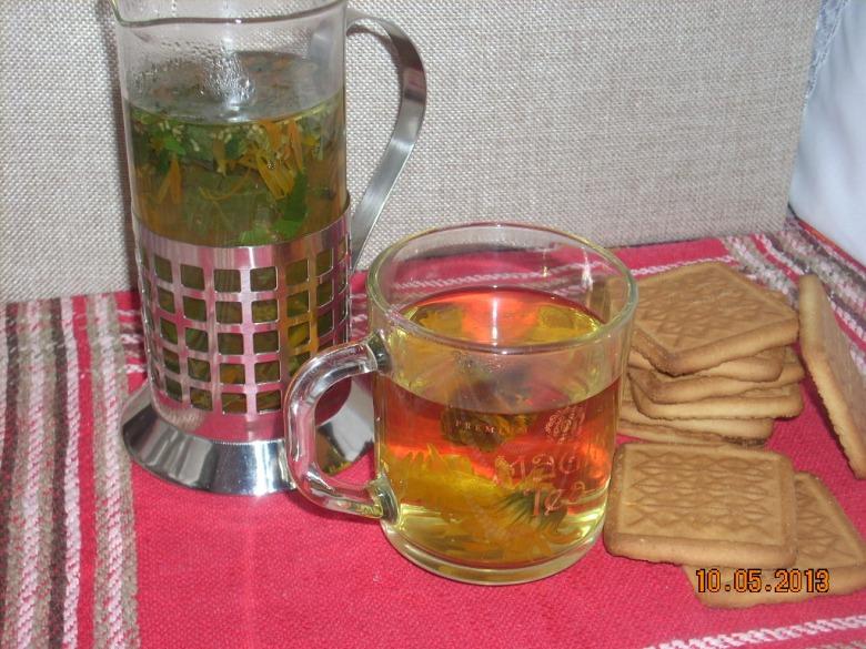 Чай трав'яний з календулою