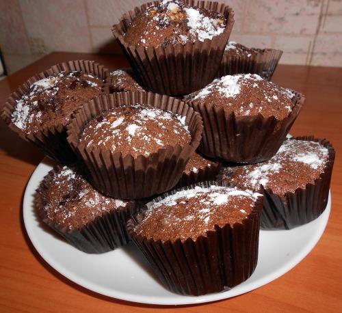 Изумительные шоколадные кексы