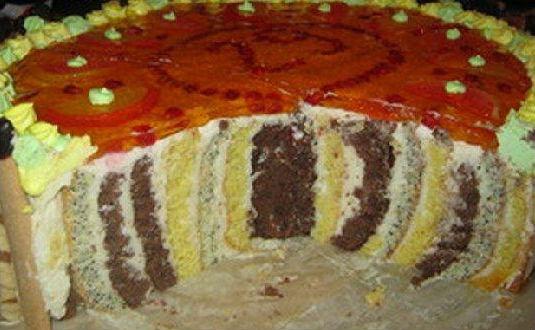 """Кручений торт """"Пеньок"""""""