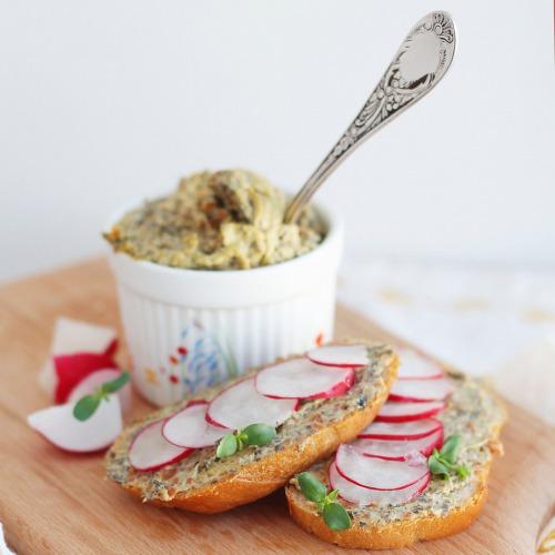 Грибная намазка на бутерброды