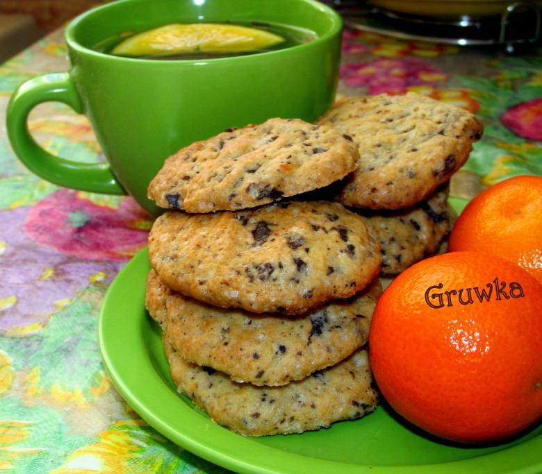 Апельсинове печиво зі шматочками шоколаду