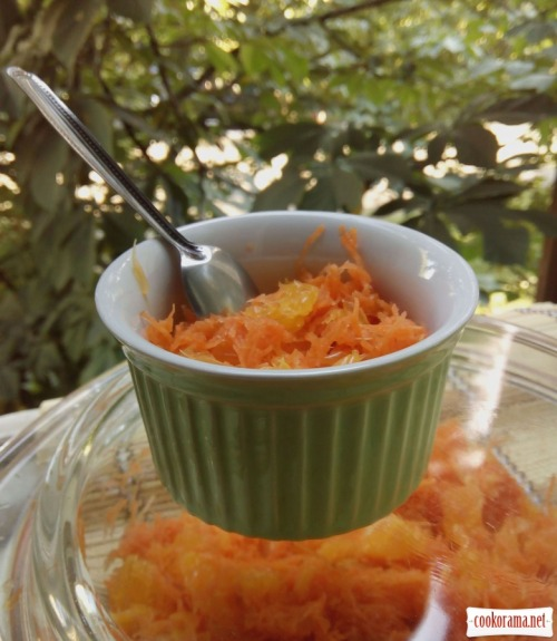 Солодкий салат з морквою