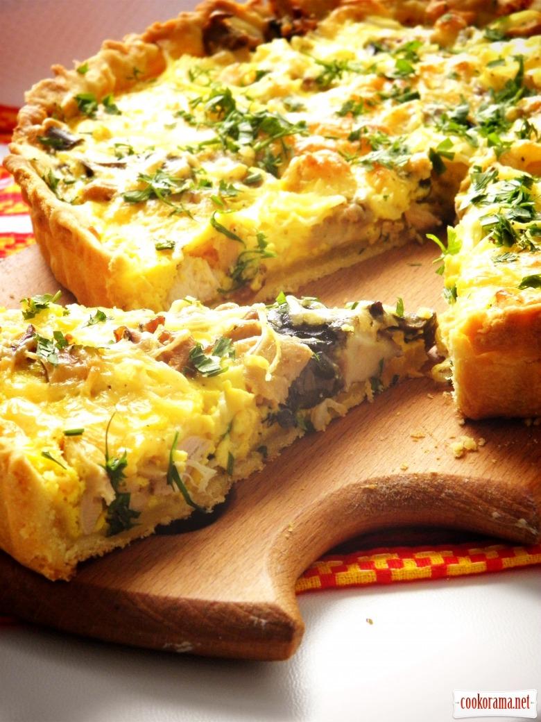 Киш рецепты с фото пошагово слоеное тесто