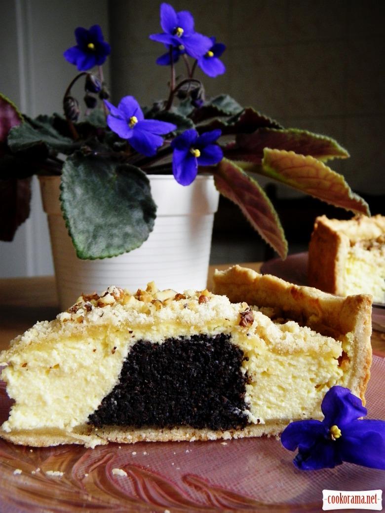 Сирний пиріг- Макове кільце