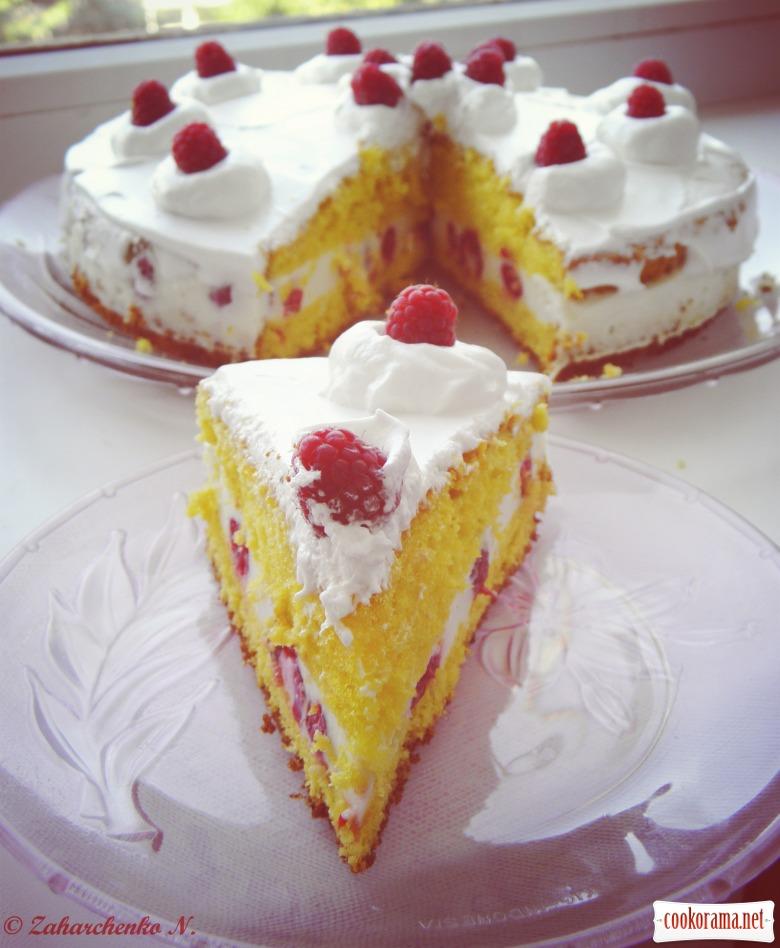 Торт - Малиновий каприз