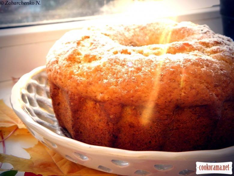 гарбузовий кекс рецепт