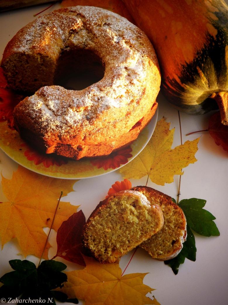Гарбузовий кекс з прянощами