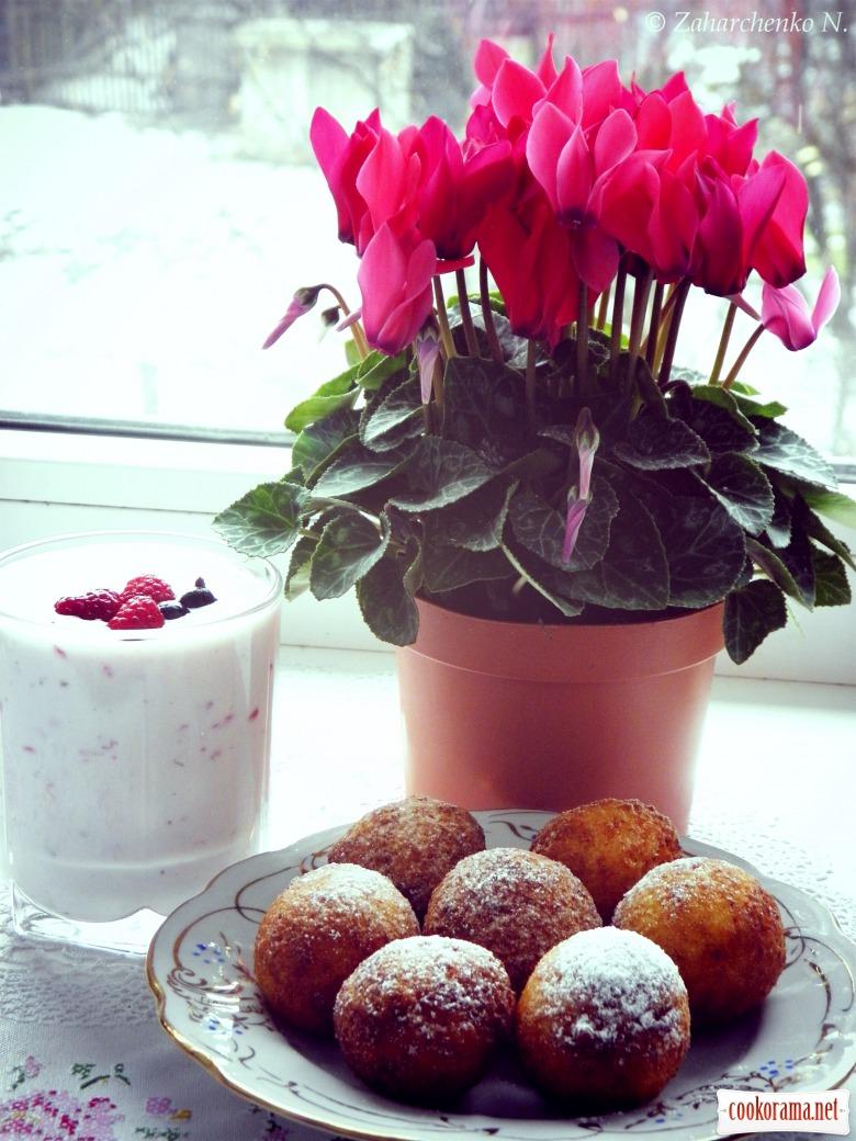 Пухкі пончики