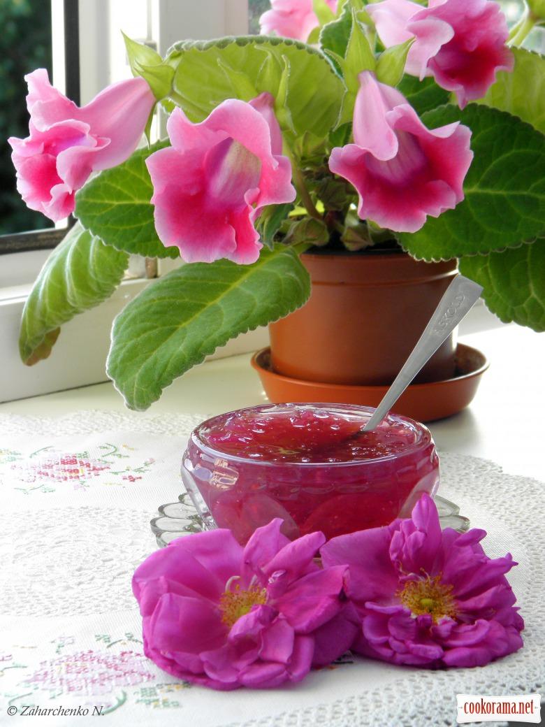 Варення з троянд