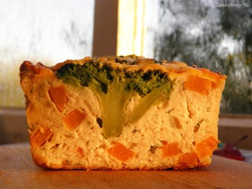 """Куриный хлебец с брокколи и тыквой """"Осень"""""""