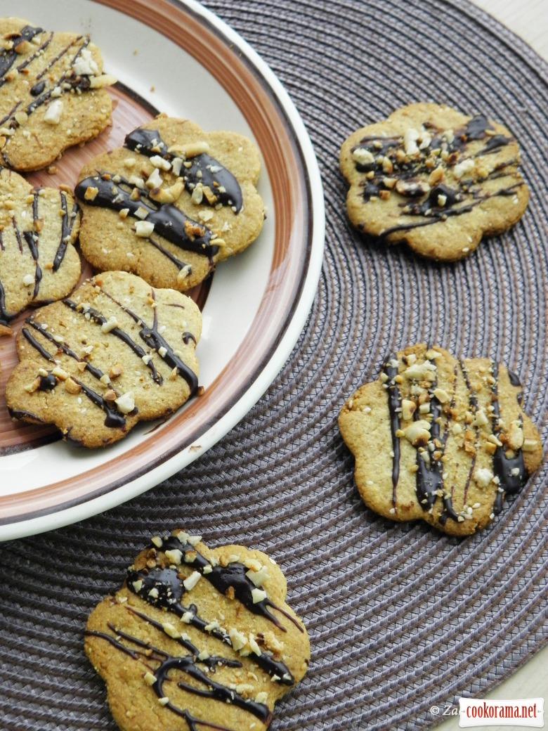 Вівсяне печиво з кунжутом