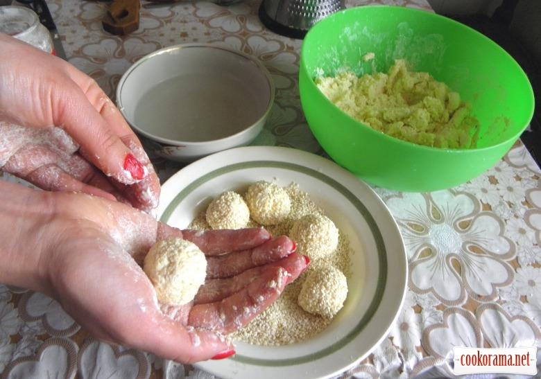 сирні кульки рецепт з фото