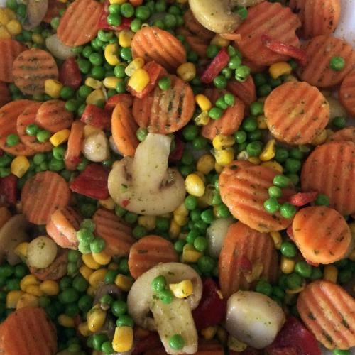 Овочі по-французькому