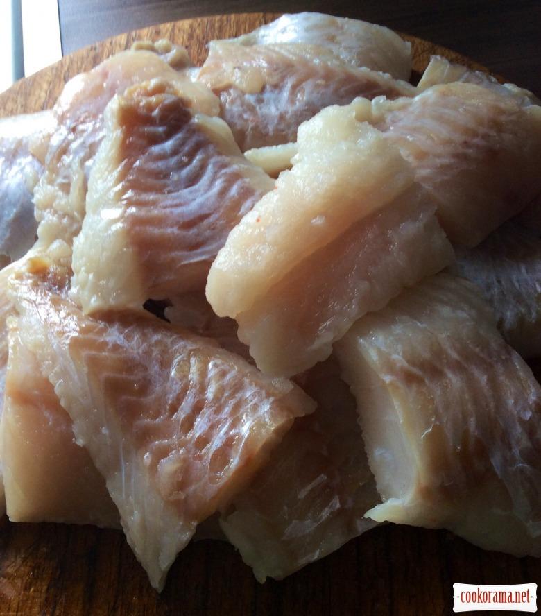 Риба під овочевим маринадом