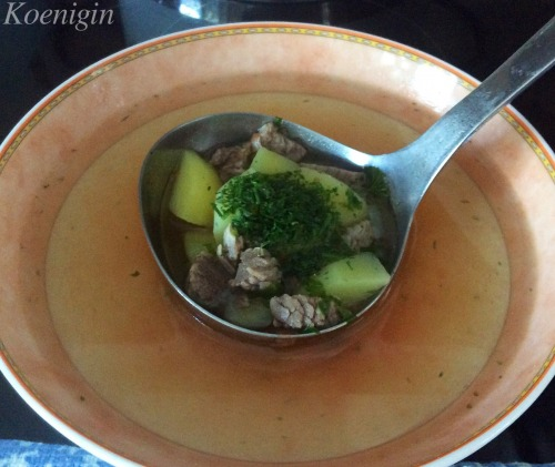Узбецький суп-шурпа