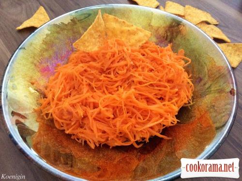 Морквяний гострий салат