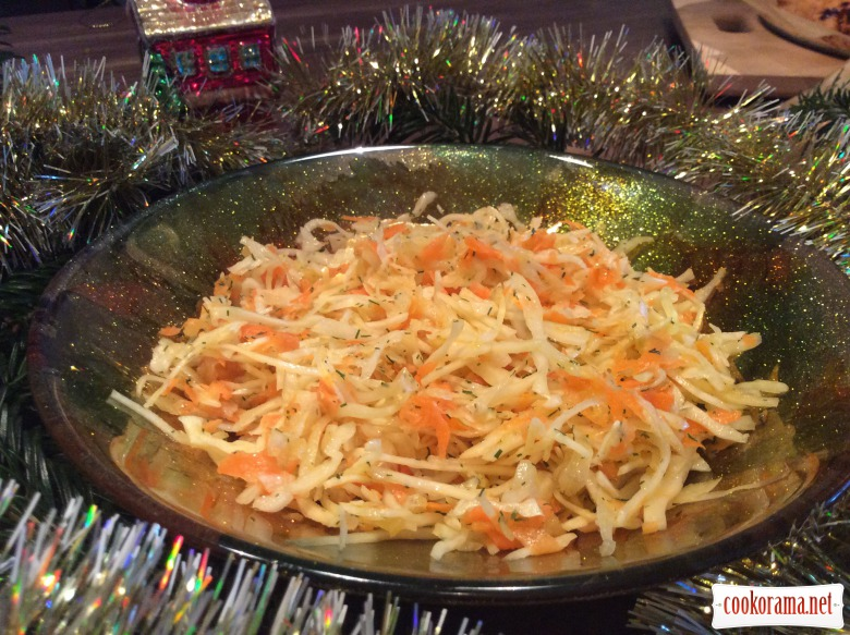 Салат із капусти «Дачний»