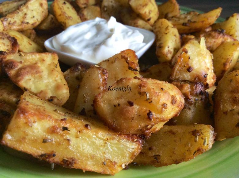 Картофель Potato Wedges