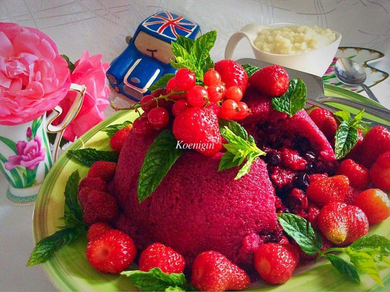 """Летний английский пудинг """"Summer pudding"""""""