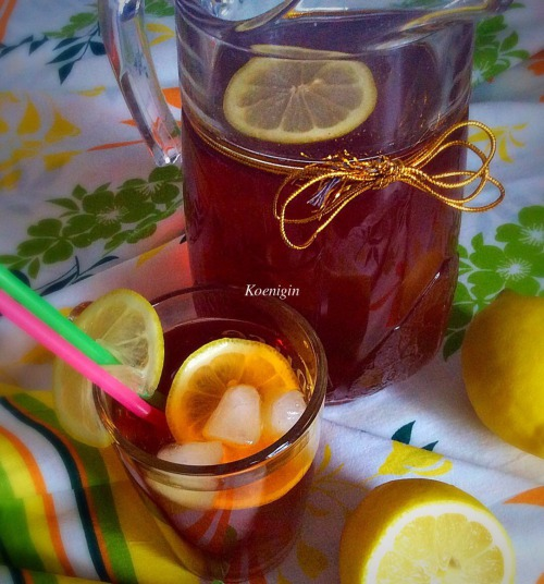 Холодний чай з лимоном /Eistee