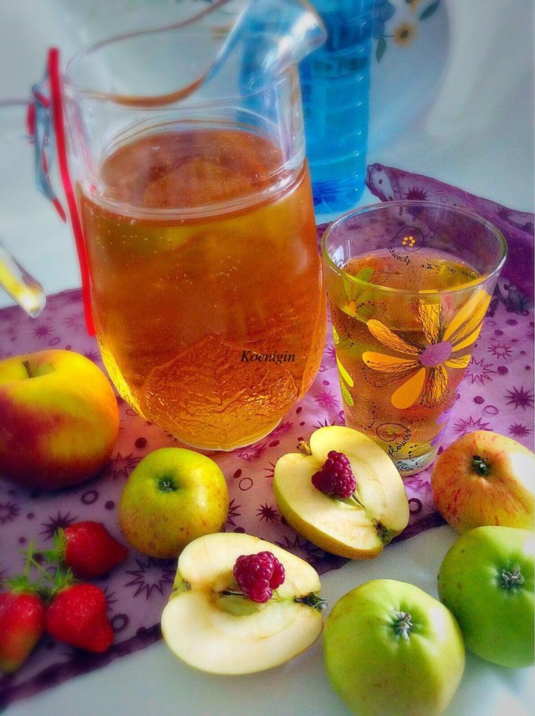 Яблочный напиток Apfelschorle
