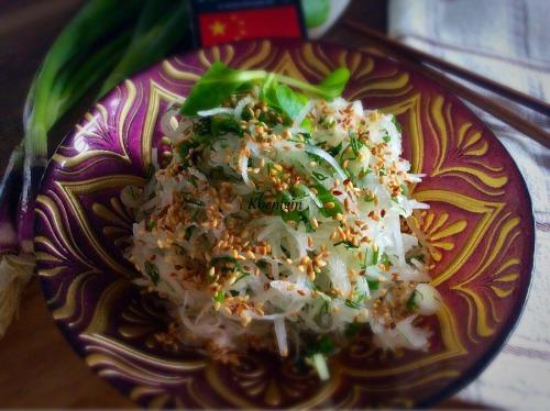 Китайський салат з редьки