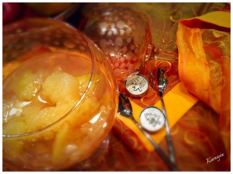 Яблучно-айвовий компот