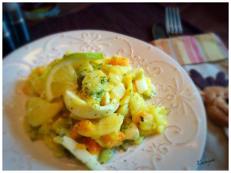 Простий картопляний салат від німецьких бауерів