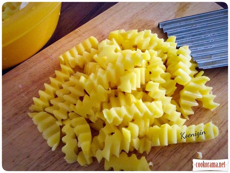 Домашня картопля-фрі