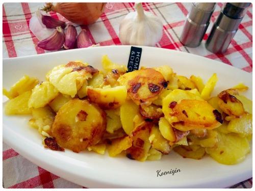 Смажена картопля по-селянськи