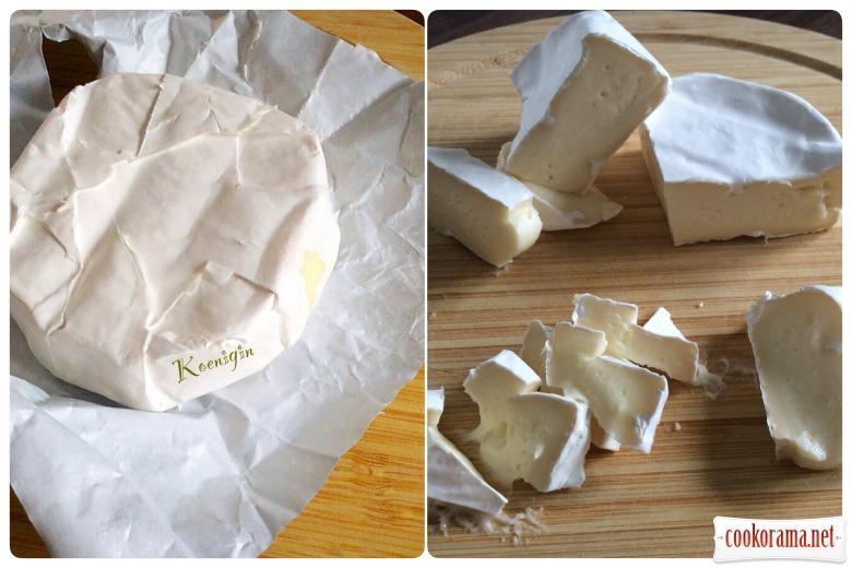 Obazda або Баварська закуска з сиру камамбер